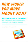 How Would You Move Mount Fuji book cover